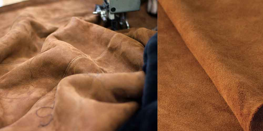 how-suede-leather-is-manufactured